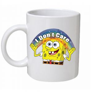 Spongebob I Don't Care Mug
