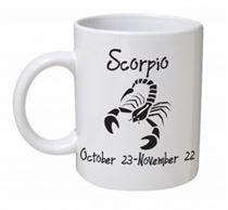 Scorpio Monochrome Mug