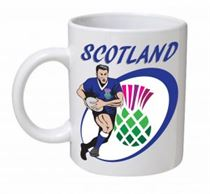 Scotland Rugby Union Mug