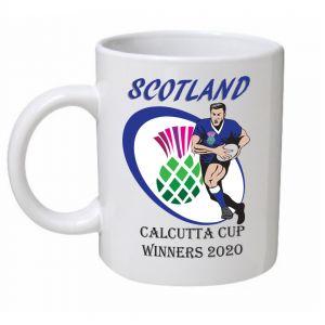Scotland Rugby Calcutta Cup Winners 2020 Mug