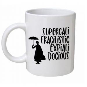 Supercala Mary Poppins Mug