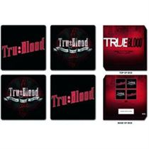 True Blood Coaster Set: 4 Piece in Presentation Box - Music and Media