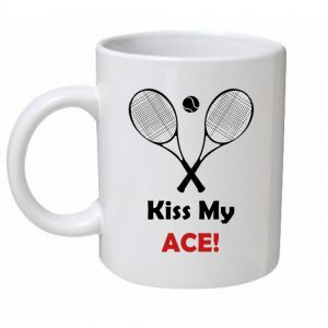 Kiss My Ace Tennis Mug