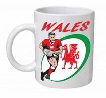 Wales Rugby Union Mug