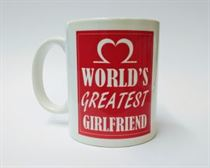 World's Greatest Girlfriend Mug
