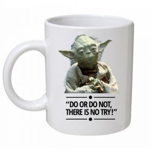 Do Or Do Not Yoda Star Wars Mug