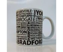 Yorkshire Place Names Mug