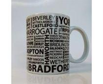 Yorkshire Place Names Mug