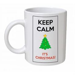 Keep Calm It's Christmas Tree Mug