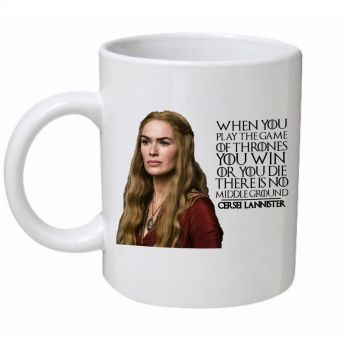 Cersei Lannister When You Play The Game Of Thrones Mug