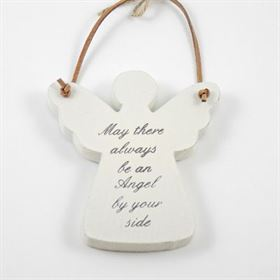 May There Always Be - Angel Wooden Hanger
