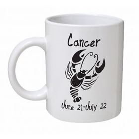 Cancer Monochrome Mug