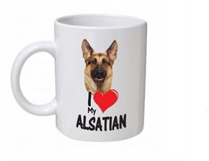 Alsatian Dog Mug